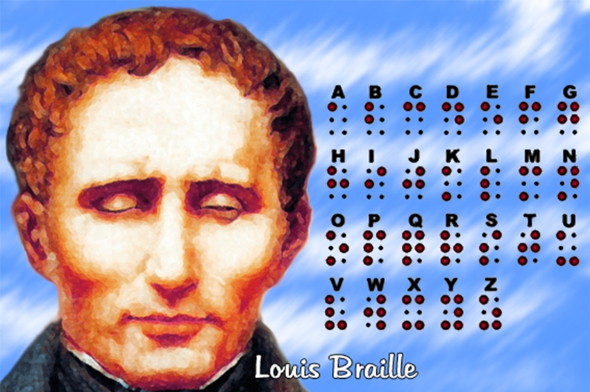 Louis Braille - Ο άνθρωπος που «άνοιξε τις πόρτες της γνώσης σε όλους εκείνους που δεν μπορούν να δουν».