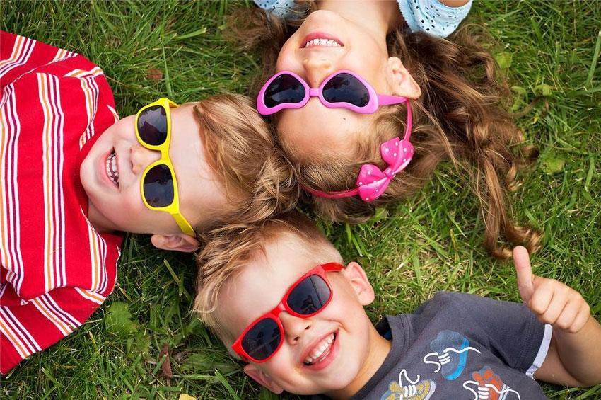 Παιδιά και Γυαλιά Ηλίου