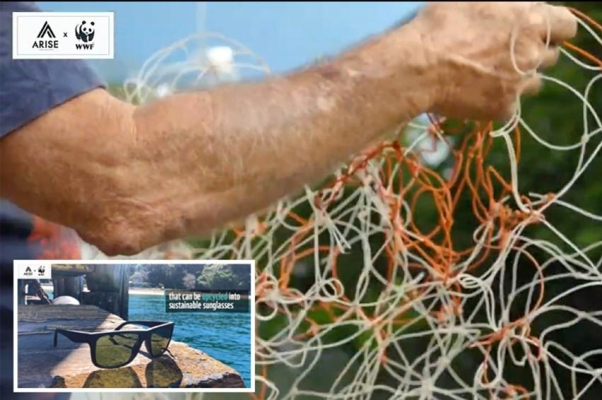 Net Sunglasses Down Under από δίχτυα αλιείας! (video)