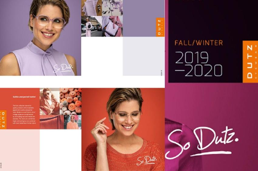 Dutz Eyewear Collection Φθινόπωρο-Χειμώνας 2019/20 από την Opticomm Hellas