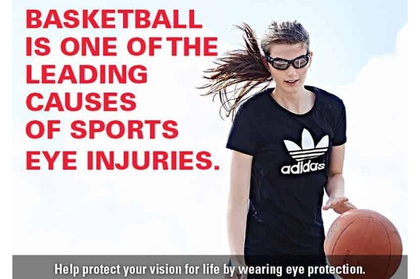 Αποτρέψτε την τύφλωση από τα παιδιά και τους ενήλικες στα sports