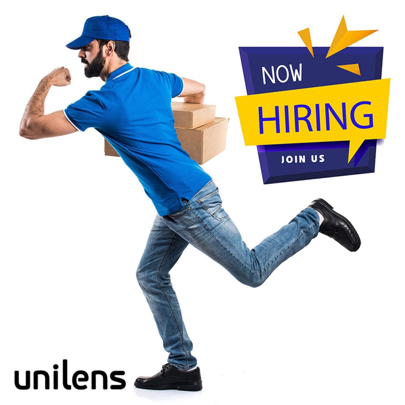 Άμεση Πρόσληψη Courier από την Unilens