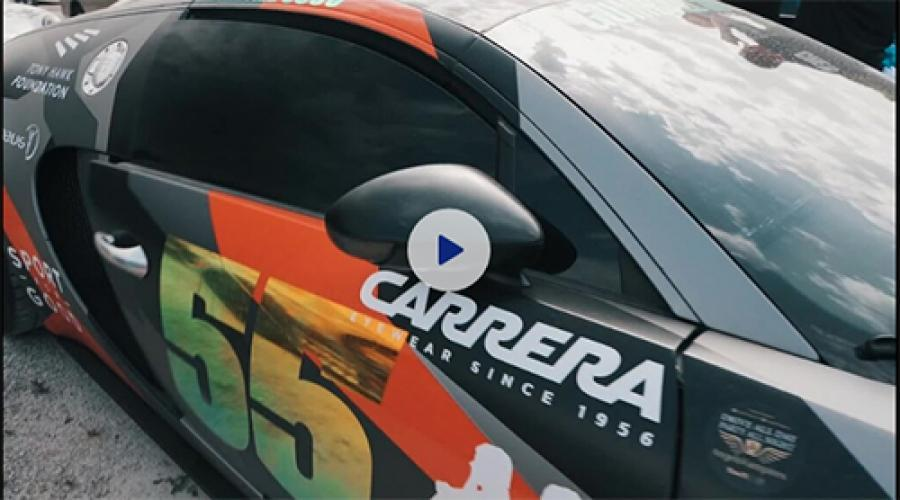 MYKONOS to IBIZA Gumball 2019: Carrera Eyewear/Supercars & Superstars! (video)