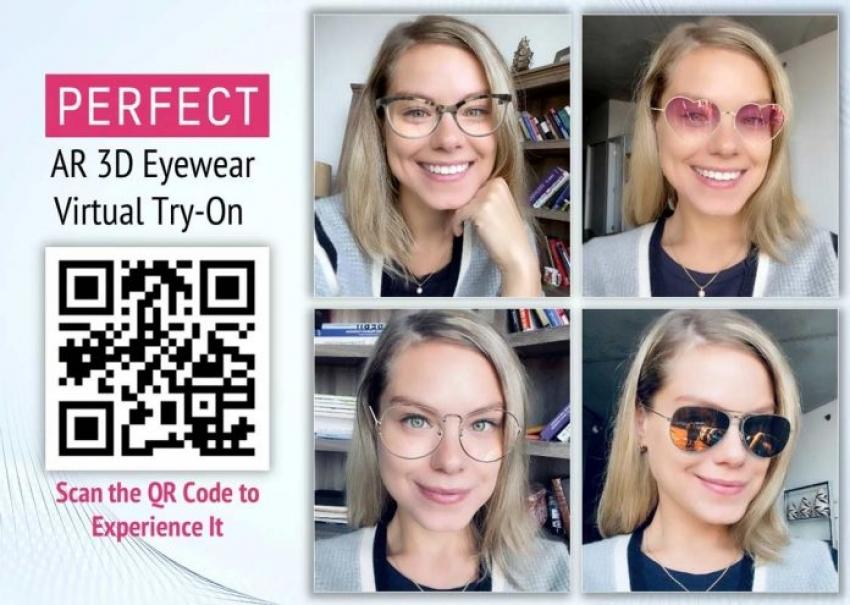 Δοκιμή Γυαλιών Μέσω Augmented Reality AR 3D