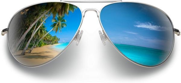 Palms Sun Beach Summer Sunglasses