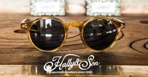 Hally & Son spectacles makers since 1959