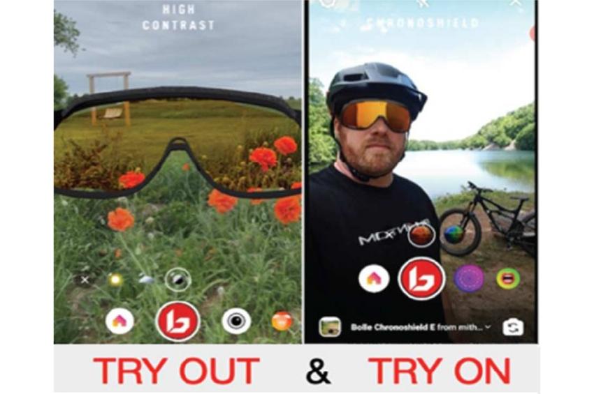 Η BolléΛανσάρει την Πρώτη Εμπειρία-Δοκιμή μέσω Smartphone, Γυαλιών Ηλίου.